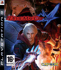 Devil May Cry 4 PlayStation 3 Cover Art