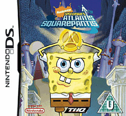 Spongebob: Atlantis Squarepantis DSi and DS Lite Cover Art