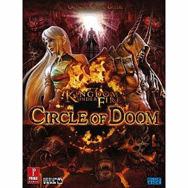 Kingdom Under Fire Circle of Doom Strategy Guide Strategy Guides and Books