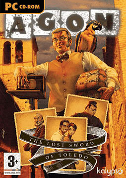 Agon: The Lost Sword of Toledo PC Games and Downloads Cover Art
