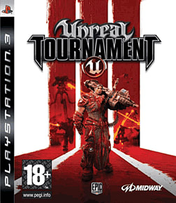 Unreal Tournament III PlayStation 3 Cover Art