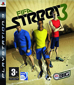 FIFA Street 3 PlayStation 3 Cover Art