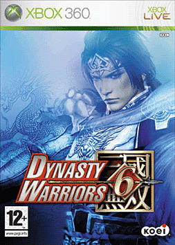 Dynasty Warriors 6 Xbox 360 Cover Art
