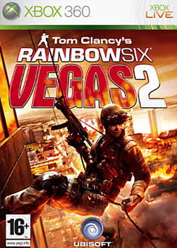 Tom Clancy's Rainbow Six Vegas 2 Xbox 360 Cover Art