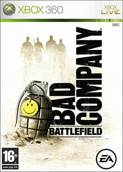 Battlefield: Bad Company Xbox 360 Cover Art