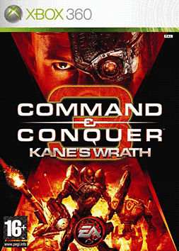 Command & Conquer: Kane's Wrath Xbox 360 Cover Art
