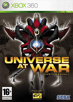 Universe at War: Earth Assault Xbox 360 Cover Art
