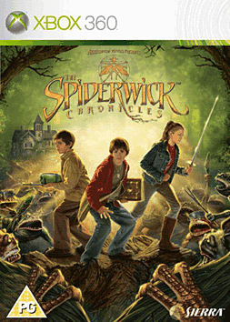 The Spiderwick Chronicles Xbox 360 Cover Art