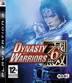 Dynasty Warriors 6 PlayStation 3 Cover Art