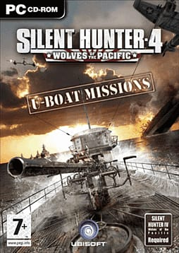 Silent Hunter 4: Wolves of the Pacifc - U-Boat Missions PC Games and Downloads Cover Art