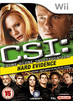 CSI: Crime Scene Investigation - Hard Evidence Wii Cover Art