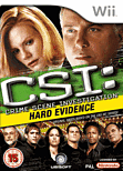 CSI: Crime Scene Investigation - Hard Evidence Wii