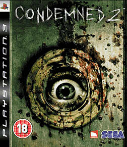 Condemned 2 PlayStation 3 Cover Art