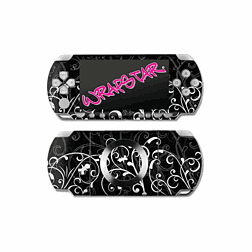 Wrapstar B&W Fleur Graphic Skin for PSP Slim & Lite Accessories