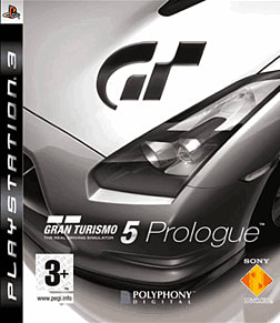 Gran Turismo 5 Prologue PlayStation 3 Cover Art