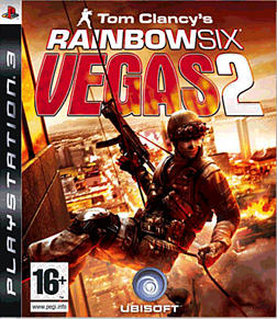 Tom Clancy's Rainbow Six Vegas 2 PlayStation 3 Cover Art