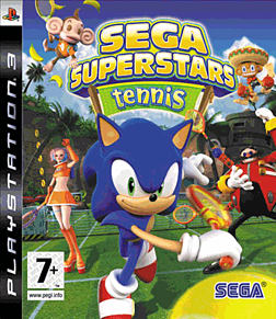 SEGA Superstars Tennis PlayStation 3 Cover Art