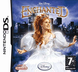 Enchanted - Disney on the Go DSi and DS Lite Cover Art