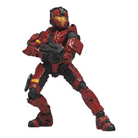 Halo 3 Series 2 Spartan Soldier CQB Figure Toys and Gadgets