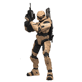 Halo 3 Series 2 Spartan Soldier Scout Toys and Gadgets