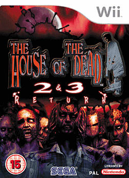 The House Of The Dead 2 and 3: Return Wii Cover Art