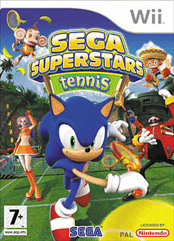 SEGA Superstars Tennis Wii Cover Art
