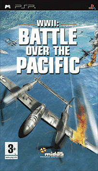 Battle Over The Pacific PSP Cover Art