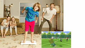 Wii Fit with Wii Balance Board screen shot 2
