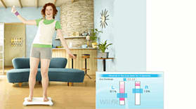 Wii Fit with Wii Balance Board screen shot 6