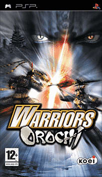 Warriors Orochi PSP Cover Art