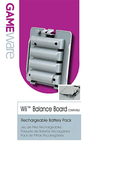 GAMEware Rechargeable Battery Pack for Wii Accessories