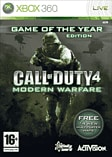 Call of Duty 4: Modern Warfare Game of the Year Edition Xbox 360