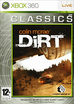 Colin McRae - Dirt - Classic Xbox 360 Cover Art