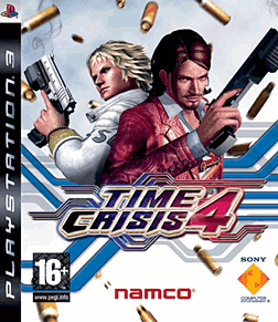 Time Crisis 4 with G-Con PlayStation 3 Cover Art