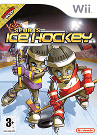 Kidz Sports Ice Hockey Wii Cover Art