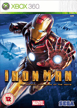 Iron Man: The Video Game Xbox 360 Cover Art