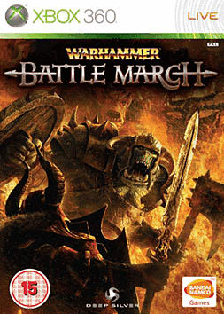 Warhammer: Mark of Chaos - Battle March Xbox 360 Cover Art