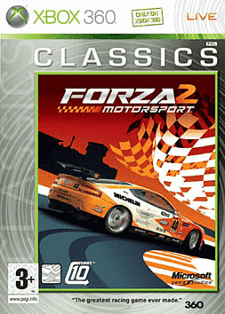 Forza Motorsport 2 Classic Xbox 360 Cover Art