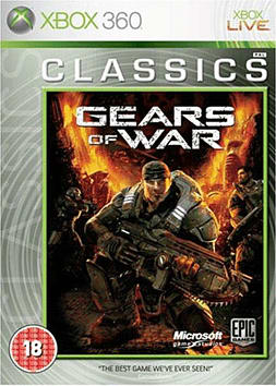 Gears of War Classics Xbox 360 Cover Art
