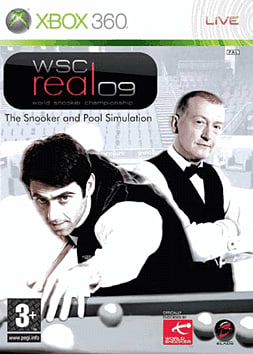 WSC Real 2009: World Snooker Championship Xbox 360 Cover Art