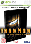 Iron Man Steelbook Edition - GAME Exclusive Xbox 360