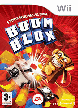 Boom Blox Wii Cover Art