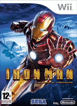 Iron Man Wii Cover Art