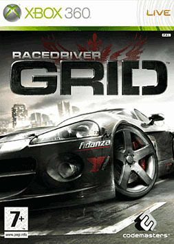 Race Driver: GRID Xbox 360 Cover Art