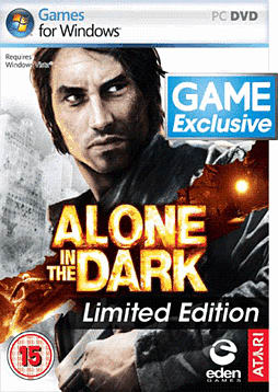 Alone in the Dark - GAME Exclusive Limited Edition PC Games and Downloads Cover Art