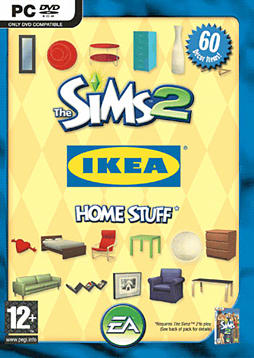 The Sims 2: Ikea Home Stuff PC Games and Downloads Cover Art