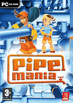 Pipemania PC Games and Downloads Cover Art
