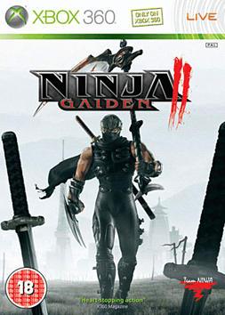 Ninja Gaiden II Xbox 360 Cover Art