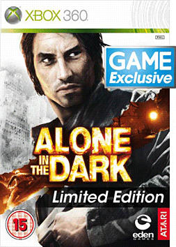 Alone in the Dark - GAME Exclusive Limited Edition Xbox 360 Cover Art