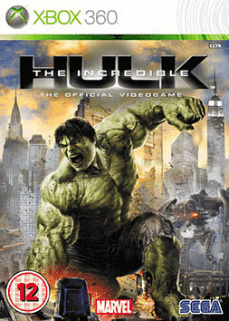 The Incredible Hulk Xbox 360 Cover Art
